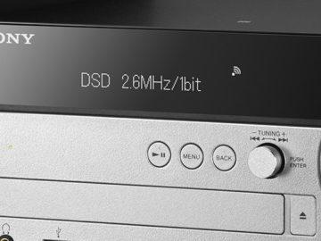 Sony CMT-SX7/CMT-SX7B — cистемы HiFi с поддержкой Wi-Fi
